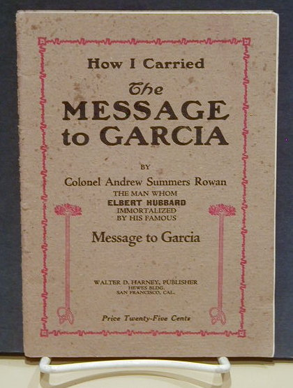 Message to Garcia"