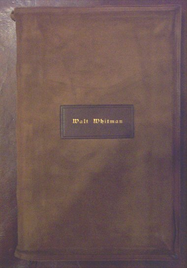 ... Harned Walt Whitman Collection | Collections | Library of Congress